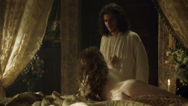 Holliday Grainger shy nude butt crack and nipple - The Borgias (2013) s3e2 hd720p