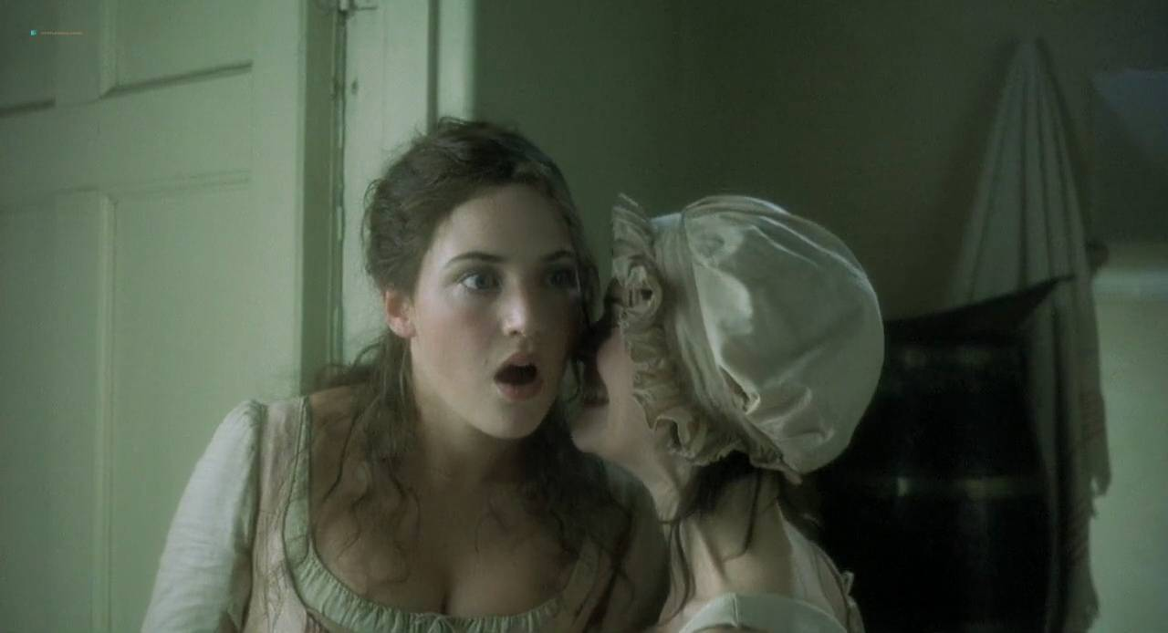 Kate Winslet and Rebecca Palmer naked Amelia Warner hot sexy - Quills (2000) HD 720p (6)
