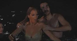Kelly Reilly wet sexy and busty - Meant to Be (2010)