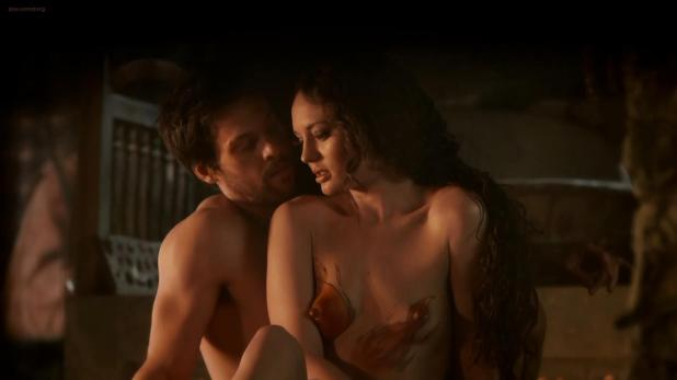 Laura Haddock naked and sex - Da Vinci's Demons (2013) s1e1 hd720p