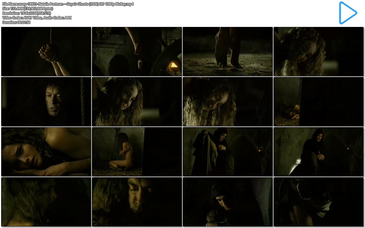 Watch Natalie portman nude scene goyas ghosts series video