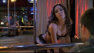 Odette Yustman hot  as stripper sex and sexy in lingerie - Group Sex (2010) hd1080p