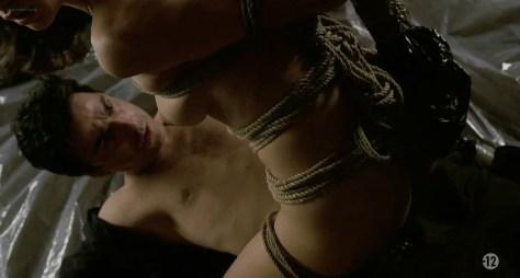 Olga Kurylenko nude topless and bound in - Le Serpent (2006) hdtv720p (13)