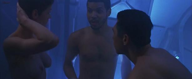 Robin Tunney naked topless and sex - Supernova (2000)hd1080p
