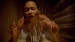 Thandie Newton naked shower - Rogue (2013) s1e1 hdtv720p