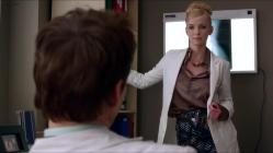 Betty Gilpin stripping to nude topless and then goes for oral - Nurse Jackie (2013) s05e05 hd720p slow motion1