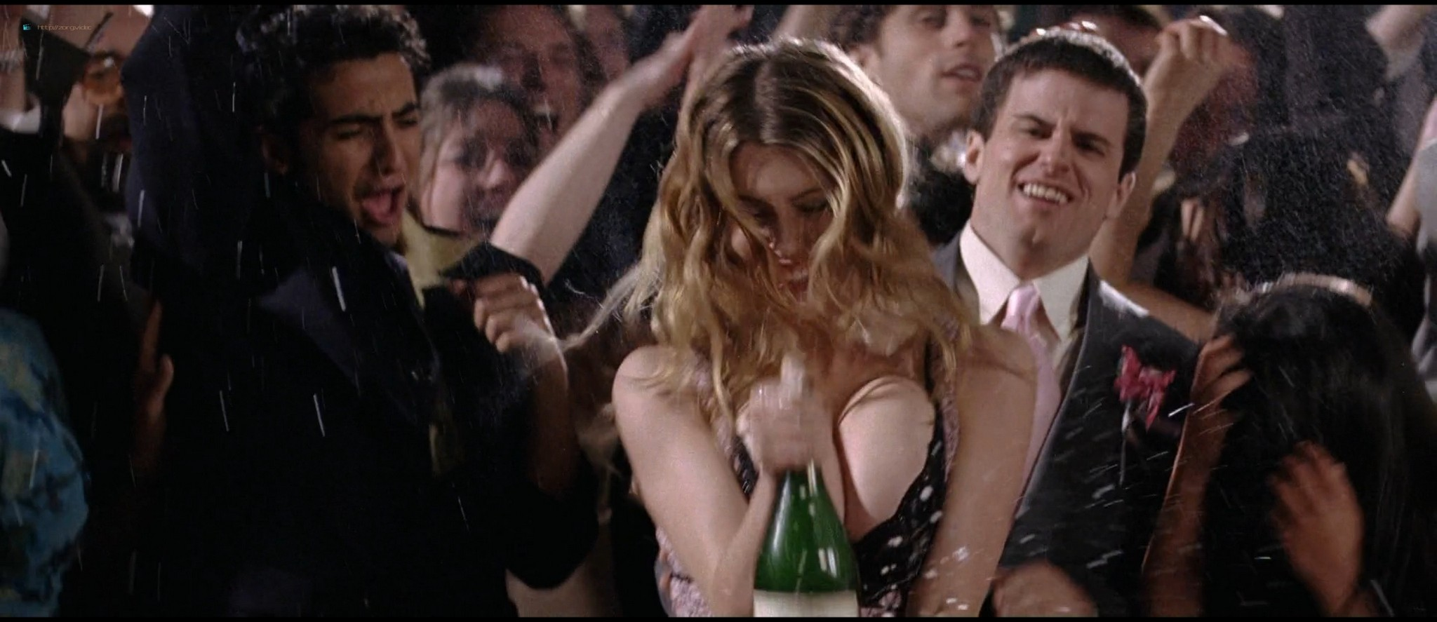 Diora Baird nude topless huge boobs others nude too - Wedding Crashers (2005) HD 1080p BluRay (4)