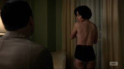 Linda Cardellini hot and sexy in lingerie - Mad Man s6e7 (2013) hd720p