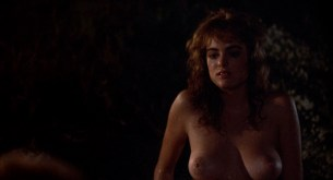 Michelle Johnson nude full frontal bush and Demi Moore nude topless - Blame It On Rio (1984) hd1080p (5)