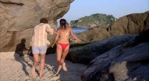 Michelle Johnson nude full frontal bush and Demi Moore nude topless - Blame It On Rio (1984) hd1080p (2)