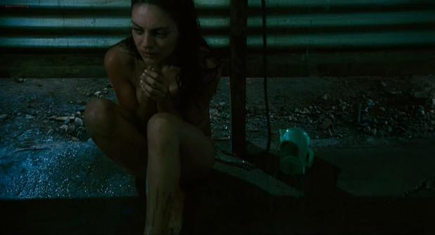 Mila Kunis sex in the shower side boob - Boot Camp (2008) hd720p