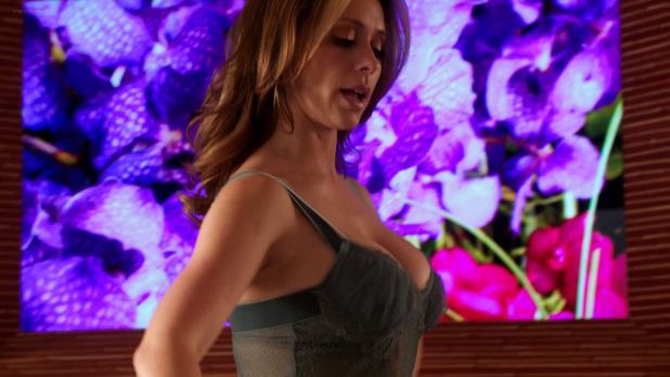 Jennifer Love Hewitt busty hot and huge cleavage - Client List s2e12 (2013) hd1080p (9)