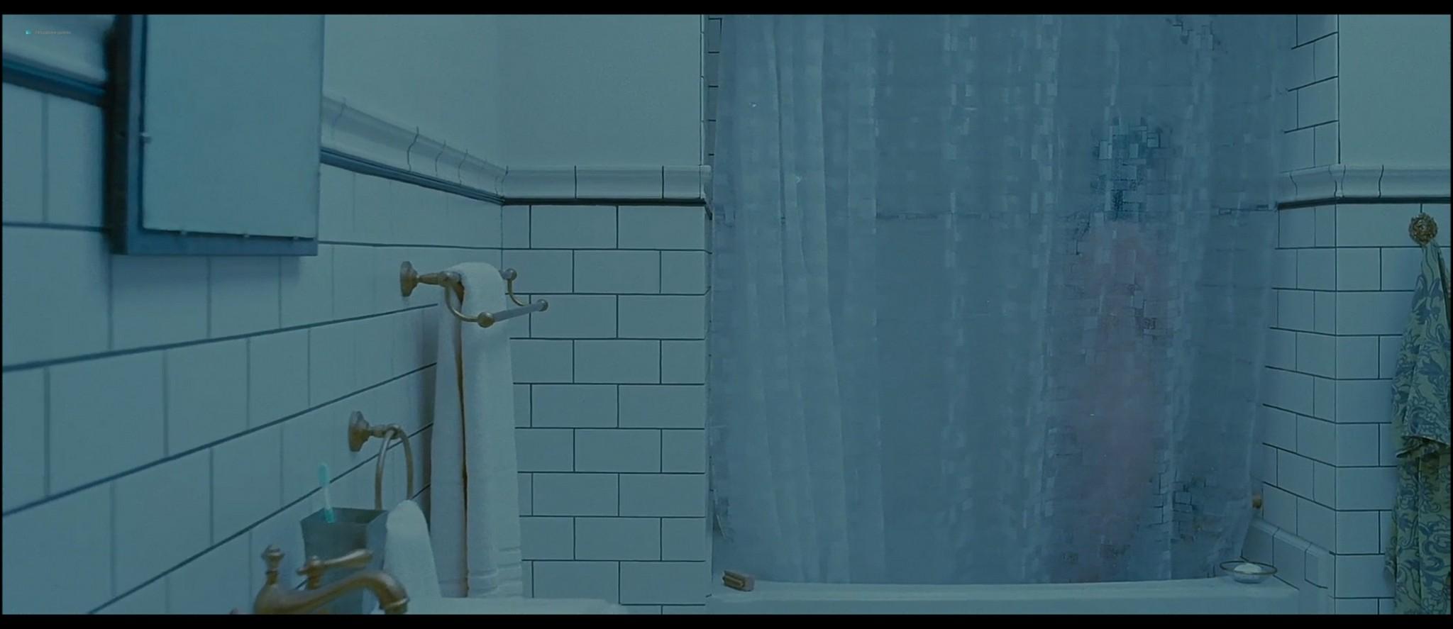 Mia Wasikowska nude nipple peak and butt while masturbating nude in the shower - Stoker (2013) HD 1080p BluRay (10)