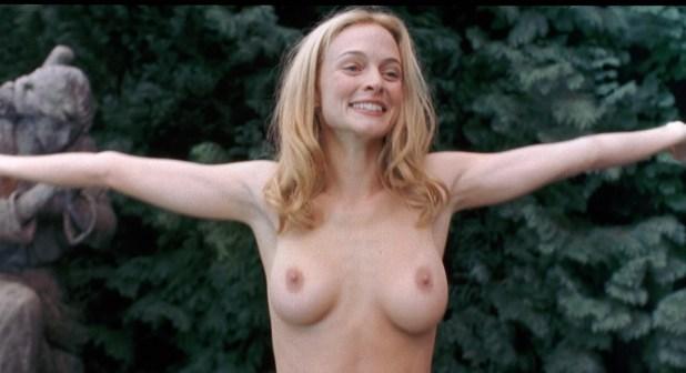Bleeding while heather graham naked sexscene nudism virgin