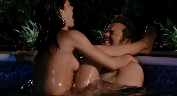 Michelle Borth sex in the pool- A Good Old Fashioned Orgy (2011) hd720p