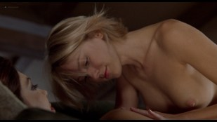 Naomi Watts nude and Laura Harring nude lesbian sex - Mulholland Drive (2001) HD 1080p BluRay