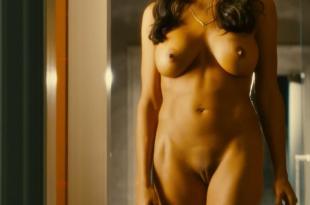 Rosario Dawson full frontal nude and labia – Trance (2011) hd1080p