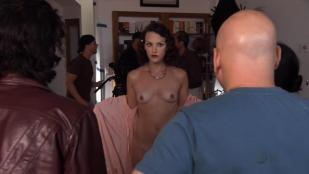 Carla Gallo nude topless and Laurie A. Sinclair nude sex doggy style - Californication (2008) Season 2
