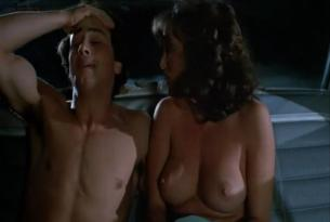 Graem McGavin nude topless and sex in the car - My Tutor (1983)