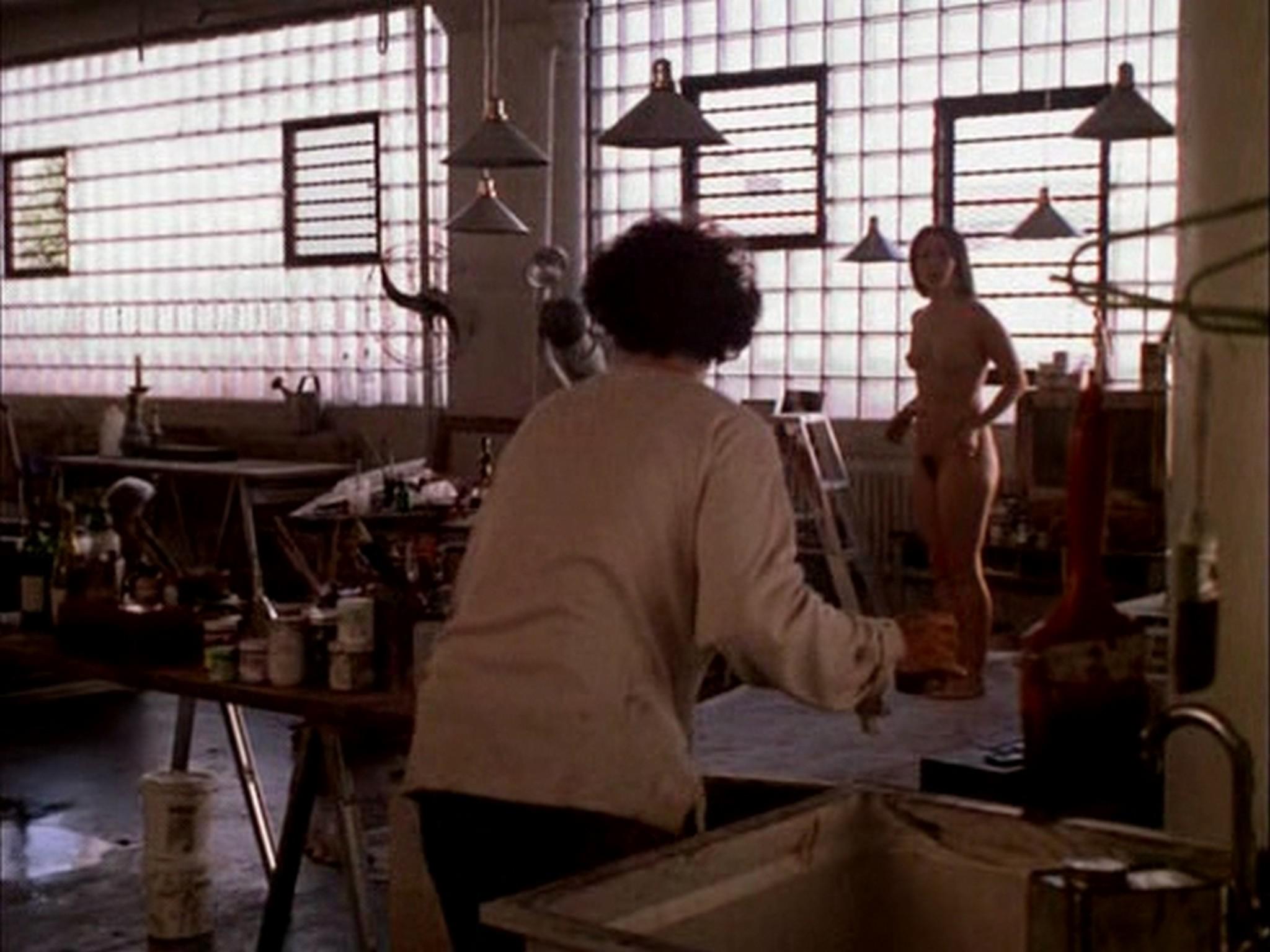 Laura Linney nude full frontal bush and Sheila Zane nude - Maze (2000) (13)