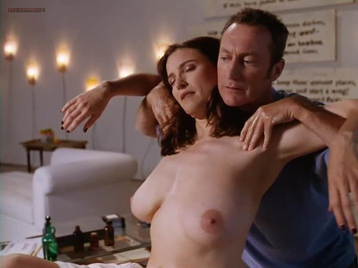 Mimi Rogers Nude Topless Huge Boobs - Full Body Massage 1995-6535
