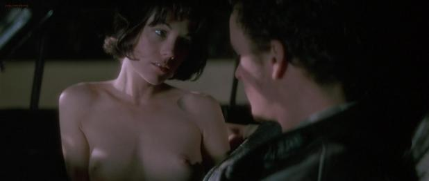 Natasha Gregson Wagner nude topless and sex in the car - Lost Highway (1997) hd1080p