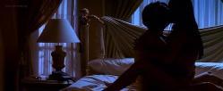 Salma Hayek hot sexy side boob and lingerie - La Gran Vida (2000)