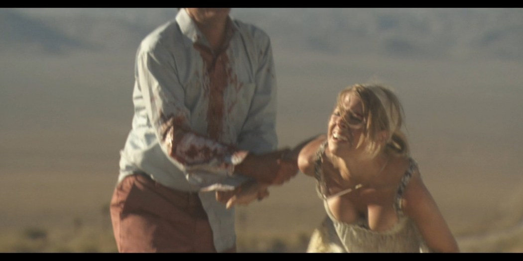 Tess Panzer hot sexy and nice cleavage - Blood River (2009) HD 1080p (5)