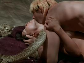 Lucy Liu nude topless and sex with snakes Talisa Soto hot dominatrix and Sadie Frost brief nude topless and sex - Flypaper (1999)