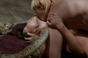 Lucy Liu nude topless and sex with snakes Talisa Soto hot dominatrix and Sadie Frost brief nude topless and sex – Flypaper (1999)