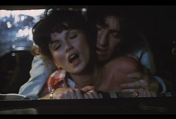 Serena Grandi nude near explicit full frontal nude topless and bush - Lady of the Night (1986) (2)