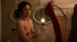 Sigourney Weaver nude topless - Death and the Maiden (1994) HD 720p