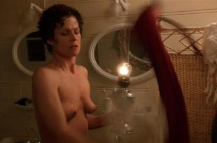 Sigourney Weaver nude topless – Death and the Maiden (1994) HD 720p