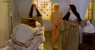 Eleonora Giorgi nude full frontal bush and Paola senatore nude topless - Story of a Cloistered Nun (1973)