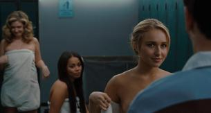 Hayden Panettiere nude side boob - I Love You Beth Cooper (2009) hd720p