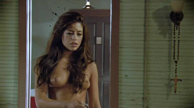 Jessica Alba hot Michelle Rodriguez hot Mayra Leal nude Lindsay Lohan and Alicia Rachel nude too - Machete (2010) hd1080p (7)