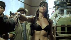 Jessica Alba hot Michelle Rodriguez hot Mayra Leal nude Lindsay Lohan and Alicia Rachel nude too - Machete (2010) hd1080p (13)