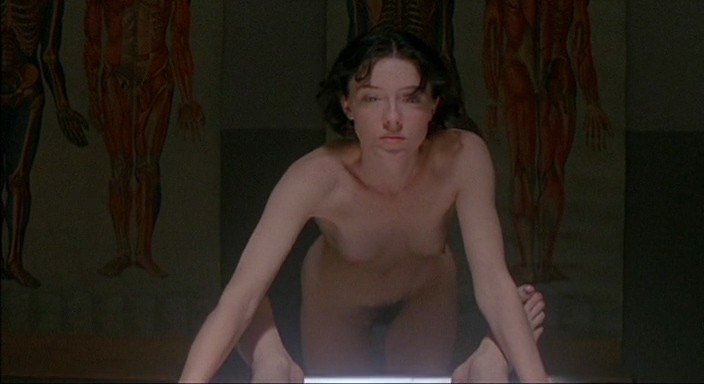 Molly Parker full frontal nude and sex with the dead dude - Kissed (1996) 480p (5)