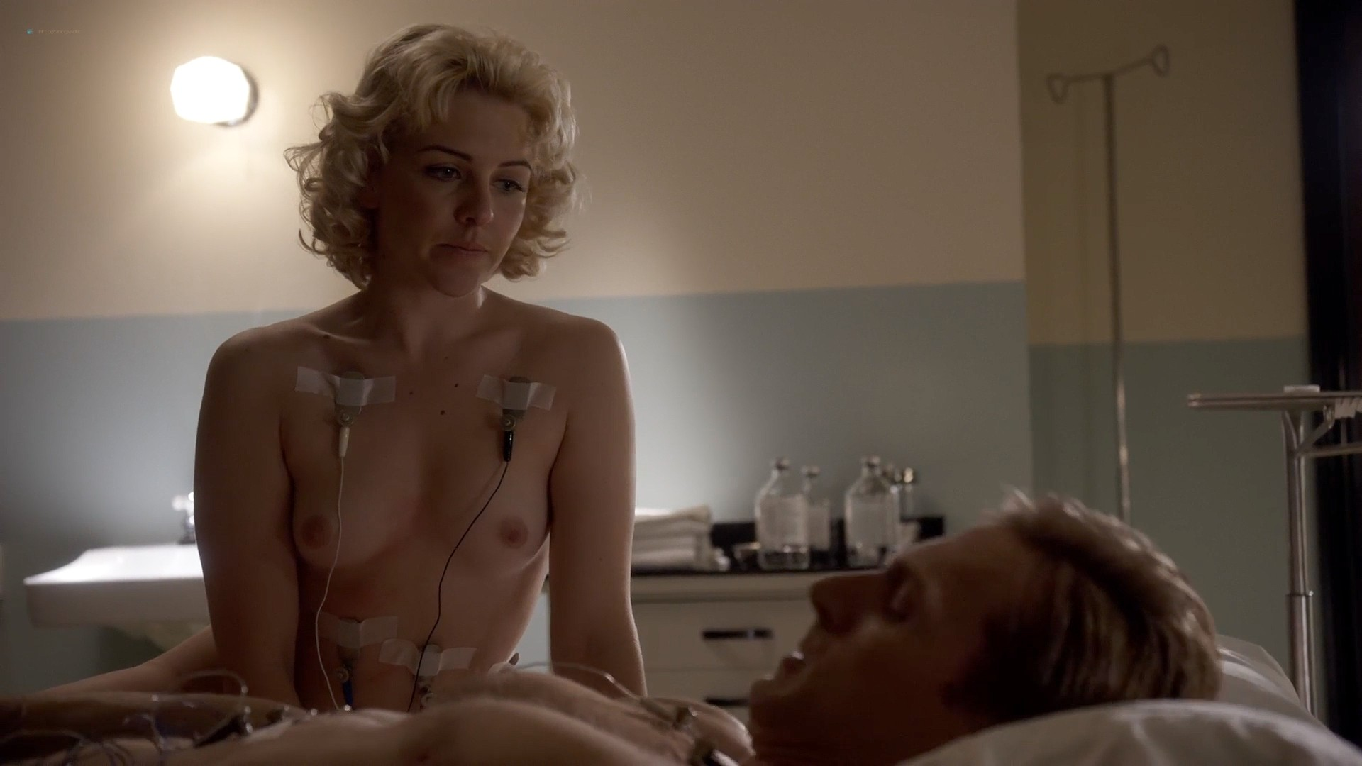 Rose Mclever nude topless and sex and Helene Yorke nude topless - Masters of Sex (2013) s1e5 HD 1080p (1)