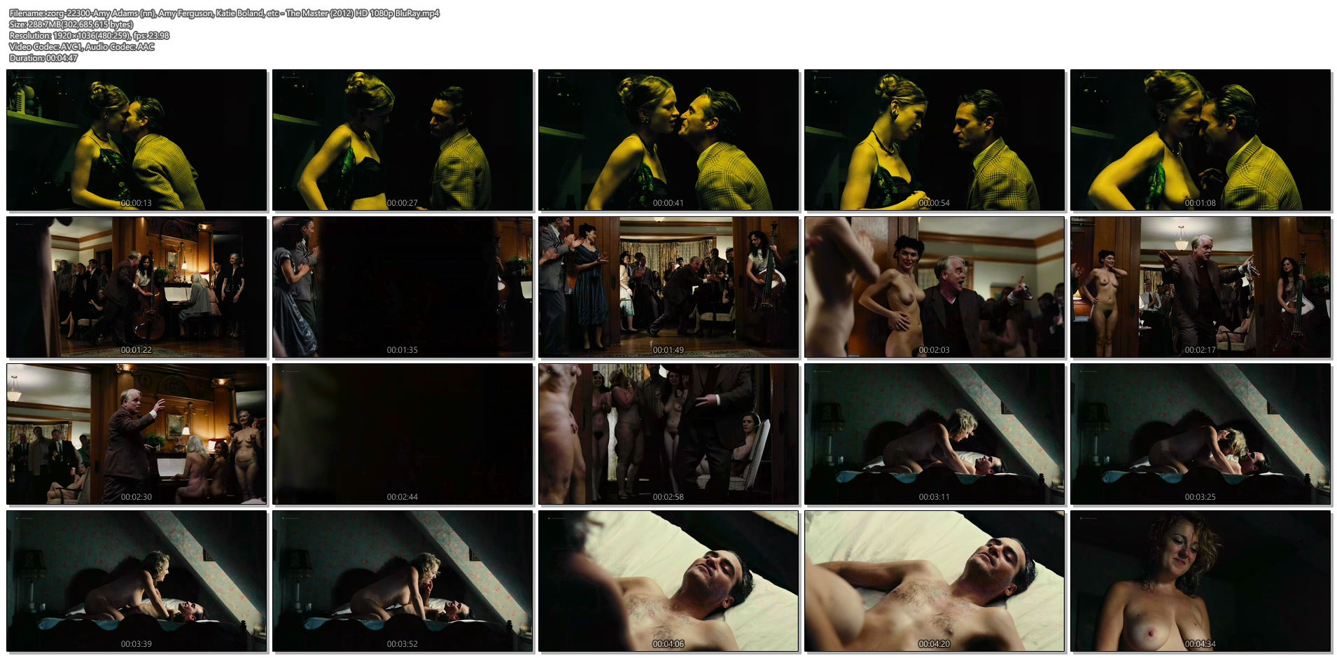 Amy Ferguson nude topless, Liz Clare, Katie Boland nude dancing Amy Adams nude covered and Jennifer Neala Page nude sex - The Master (2012) HD 1080p BluRay (8)