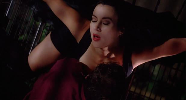 Jennifer Tilly not nude but hot- Embrace of the Vampire (1995) hd1080p