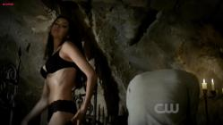 Nina Dobrev hot while stripping to bra and panties - The Vampire Diaries s2e11 hdtv720p