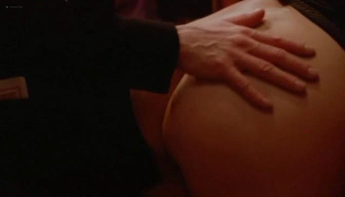 Serena Grandi nude topless bush full frontal oral and near explicit - Desiderando Giulia (1986) (20)