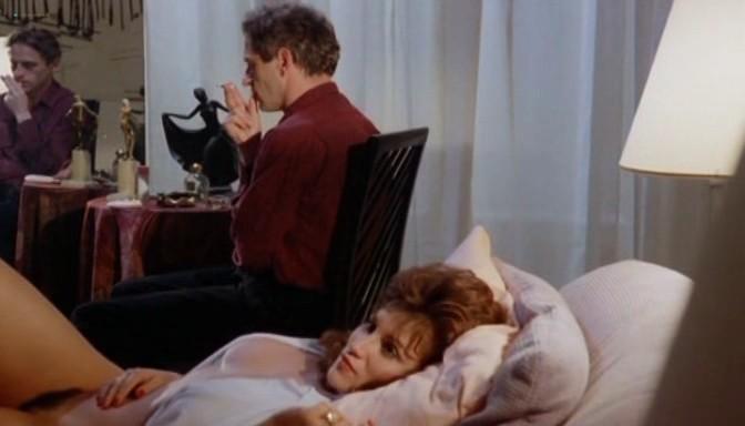 Serena Grandi nude topless bush full frontal oral and near explicit - Desiderando Giulia (1986) (8)