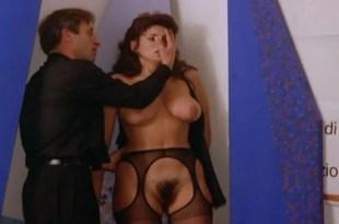 Serena Grandi nude topless bush full frontal oral and near explicit - Desiderando Giulia (1986) (2)