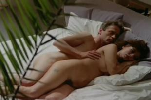 Serena Grandi nude topless bush full frontal oral and near explicit  –  Desiderando Giulia (1986)