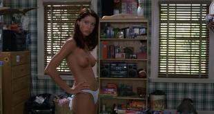Shannon Elizabeth nude topless in legendary scene from - American Pie (1999) hd1080p