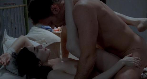 Amira Casar nude full frontal and explicit sex- Anatomie de l'enfer (2004)