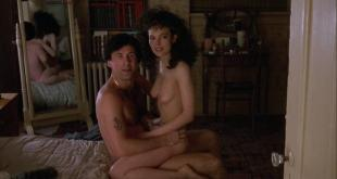 Elizabeth Whitcraft nude topless and sex - Working Girl (1988)