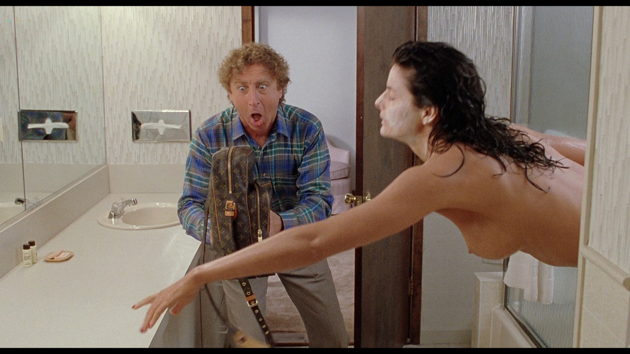 Joan Severance nude topless - See No Evil Hear No Evil (1989) HD 720/1080p (9)